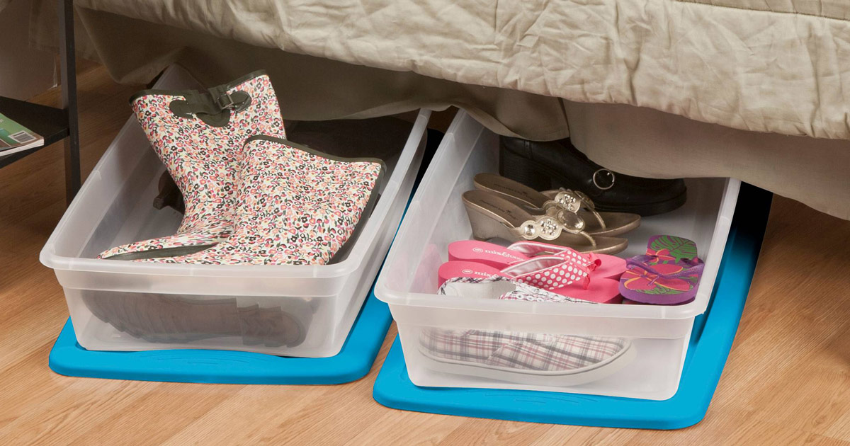 The top 15 things to take to college – Under bed storage