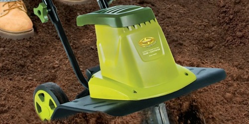 Sun Joe Electric Tiller Cultivator Only $105 Shipped on Amazon (Regularly $198)
