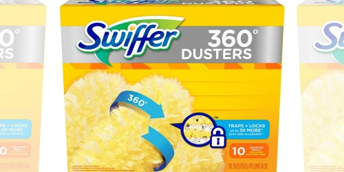Amazon: Swiffer 360 Disposable Cleaning Dusters Refill 10-Ct Only $7.44 Shipped