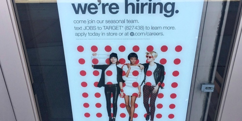 Target is Hiring 100,000 Seasonal Workers – Earn Extra Money for Holiday Shopping