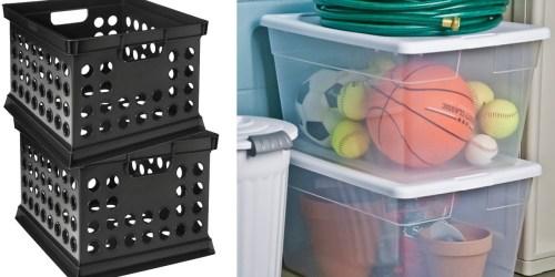 Target.com: Room Essentials Milk Crate Storage Bin Only $3.14 + More
