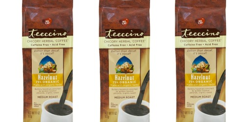 Amazon: Teeccino Organic Hazelnut Coffee 3-Pack Only $4.50 Shipped (Just $1.50 Each)