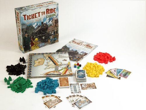 Amazon Ticket To Ride Europe Board Game Only 23 Great Reviews