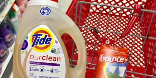 Target Shoppers! Over 50% Off Tide, Bounce Dryer Sheets & More – Just Use Your Phone