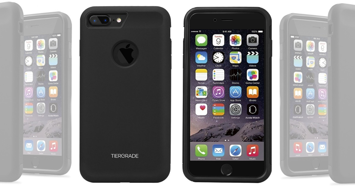 big sale 7f11b ff49c Amazon: Tiergrade Shockproof iPhone 7 or 8 Plus Case Only $3.99 ...