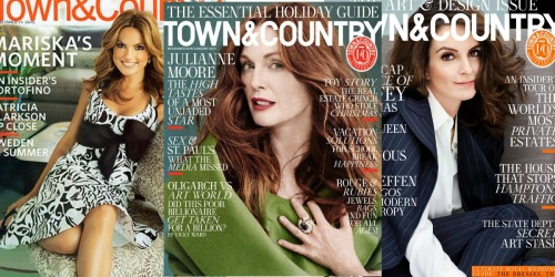 FREE One Year Town & Country Magazine Subscription
