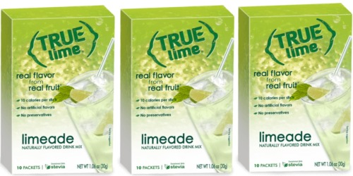 Amazon: 12 BOXES of True Lime Limeade Only $6.84 Shipped (Add On Item)