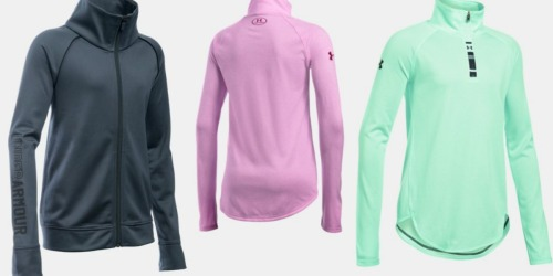 Under Armour Outlet: Up to 40% Off + FREE Shipping = Girls' Jackets Only $17.99 Shipped
