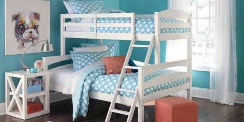 Target Clearance Find: Maddox Twin Over Full Bunk Bed Possibly Only $107.98 (Regularly $360)