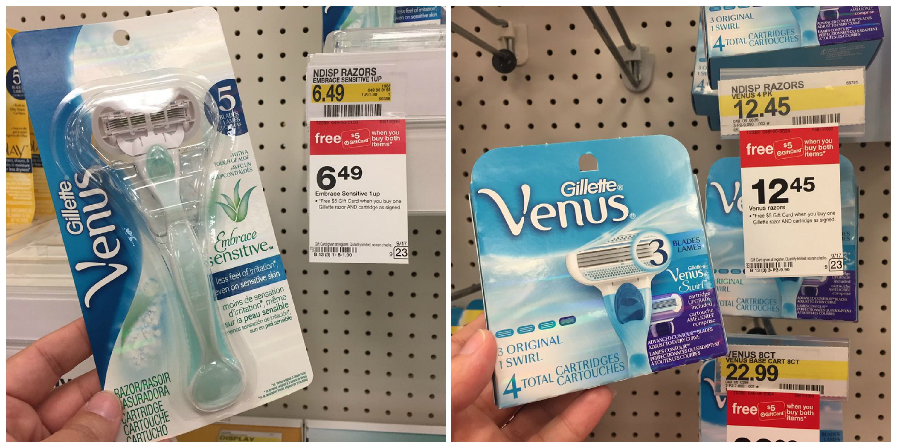 photograph regarding Venus Razor Coupons Printable referred to as Concentration: Gillette and Venus Razors Refills As Very low As $2.62