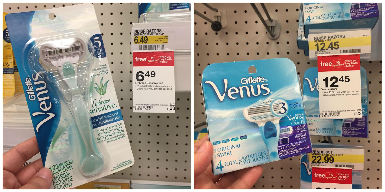 photo regarding Venus Razor Coupons Printable titled Concentrate: Gillette and Venus Razors Refills As Lower As $2.62