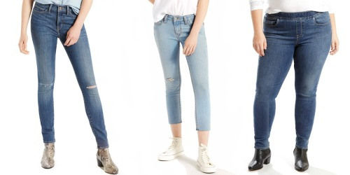 Kohl's Cardholders: Levi's Womens Jeans As Low As $9.90 Shipped (Regularly $50)