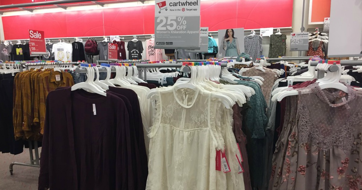 64dde6fc15 Target Shoppers! 25% Off Women s Xhilaration Apparel Items (In-Store ...
