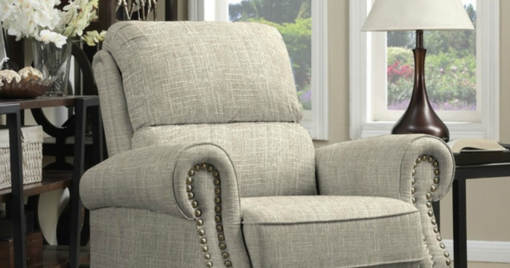 JCPenney: Anna Push Back Recliner Chair ONLY $225.75