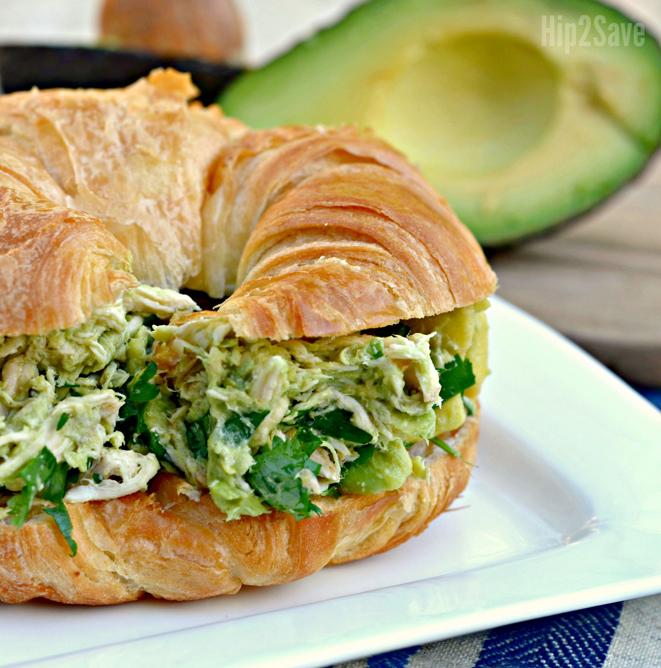 Hip2Save's Top 10 Recipe & DIY Posts of All Time –– chicken salad sandwich