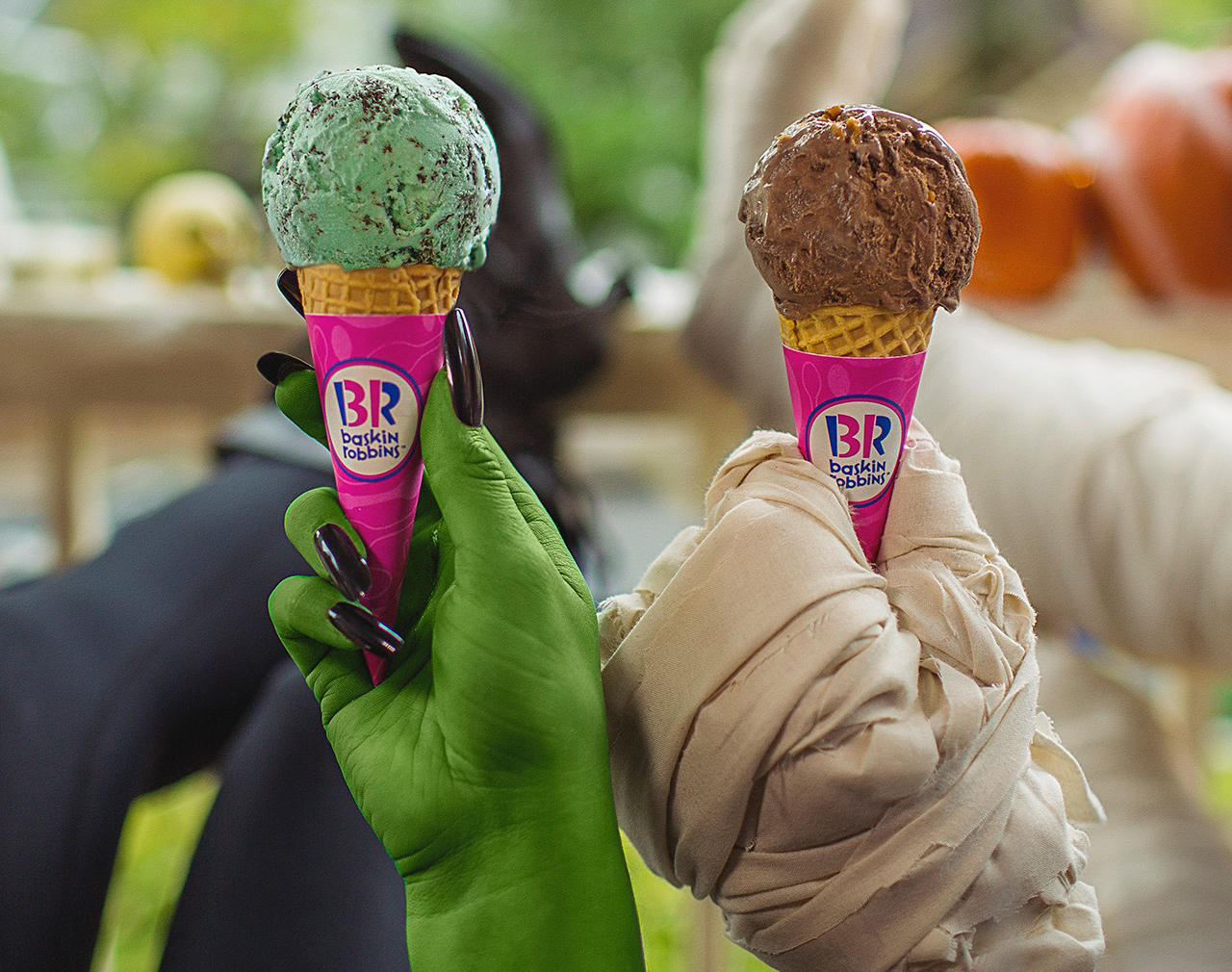 Halloween freebies and deals – baskin robbins halloween cones