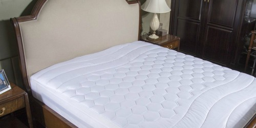 Amazon: Bedsure Hypoallergenic Mattress Pads Just $16.24-$22.74 (Great Reviews)