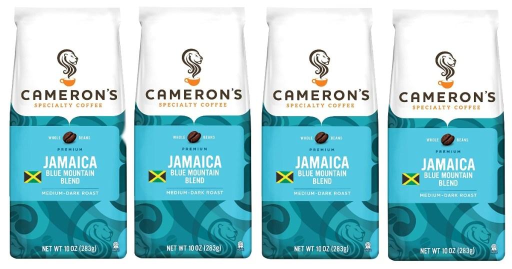Cameron's Specialty Coffee Whole Bean Jamaica Blue Mountain Blend 10oz Bag