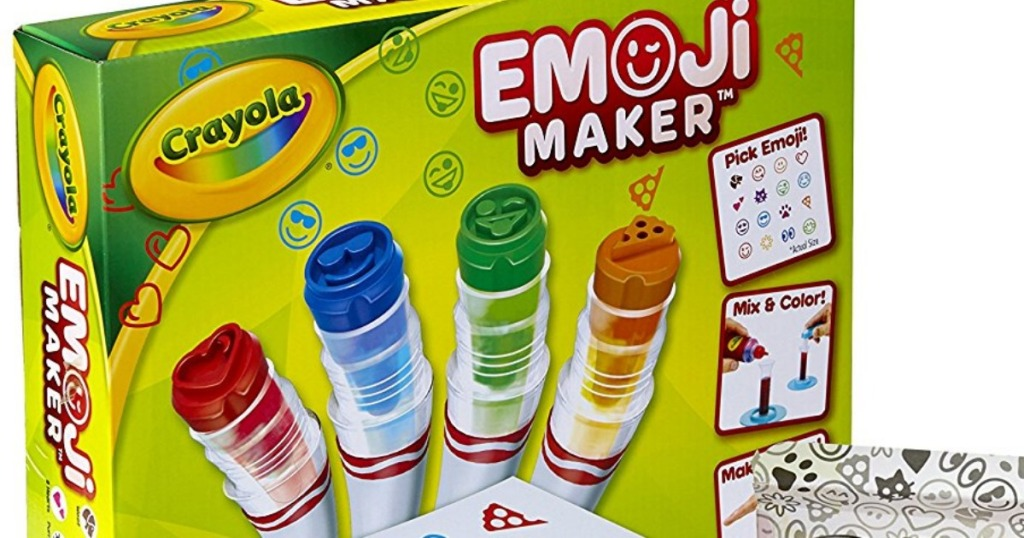 Amazon: Crayola Emoji Maker Set Only $8 67 (Regularly $20)