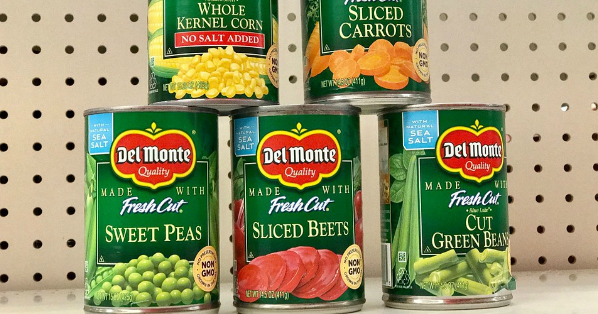 photograph relating to Del Monte Printable Coupons identify Uncommon $0.50/4 Del Monte Veggies Coupon \u003d Just 67¢ For every Can