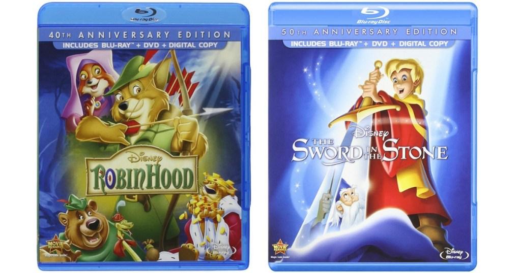 Disney Blu-ray + DVD + Digital Movies ONLY $9 99 (Robin Hood