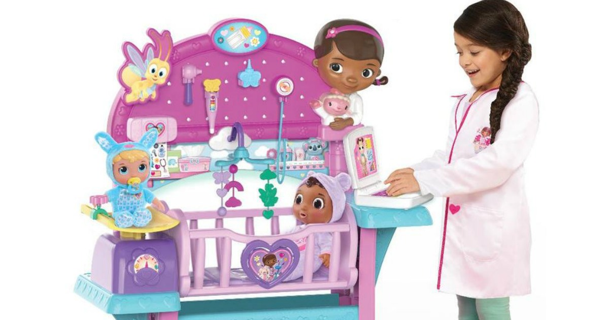 Toysrus Doc Mcstuffins All In One Nursery Only 64 99