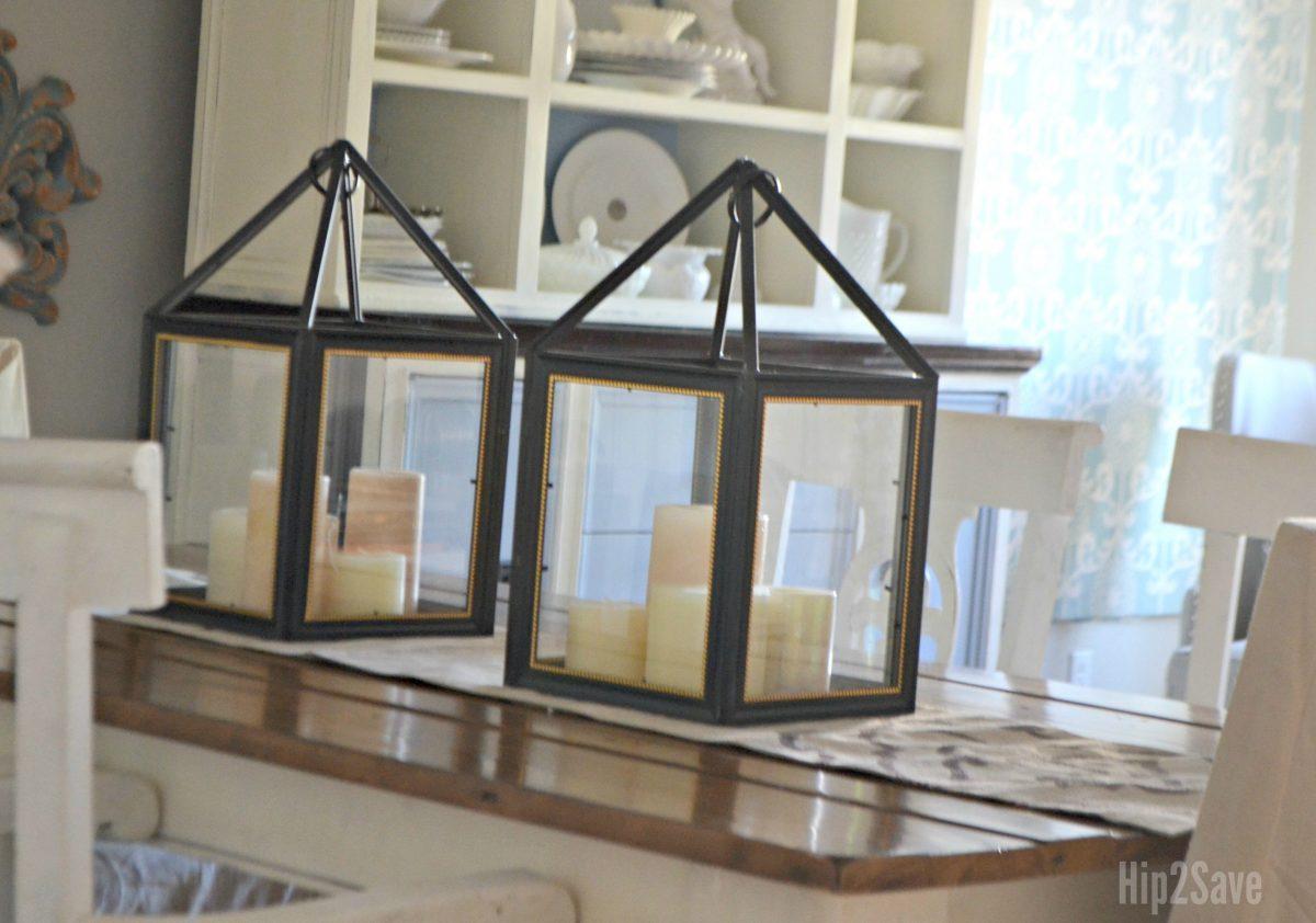 diy dollar trame photo frame lanterns