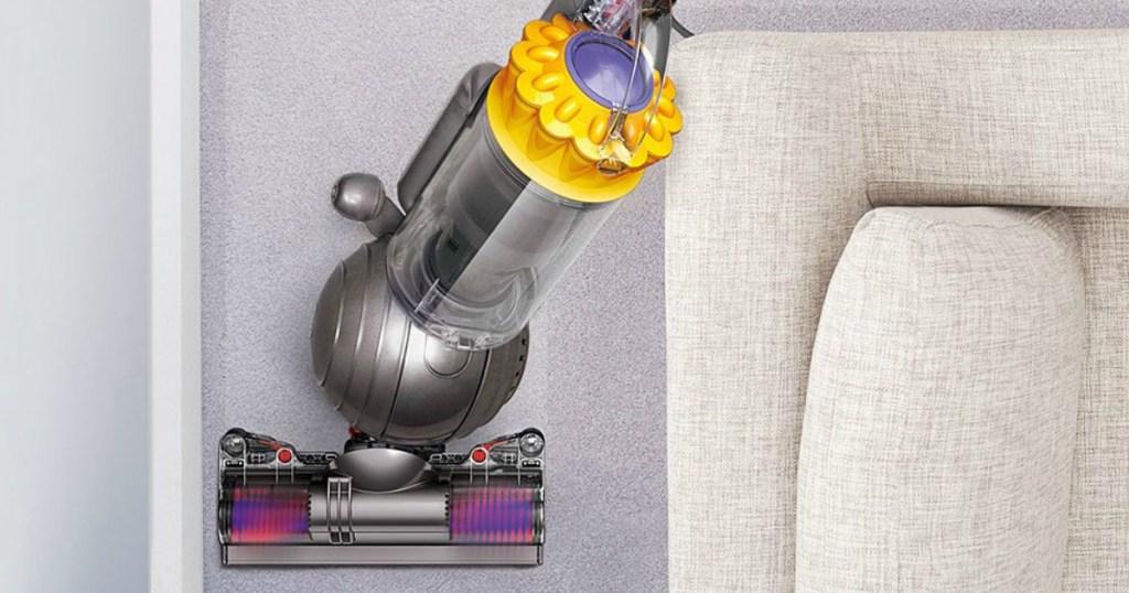 dyson vacuum cleaning up vacuum