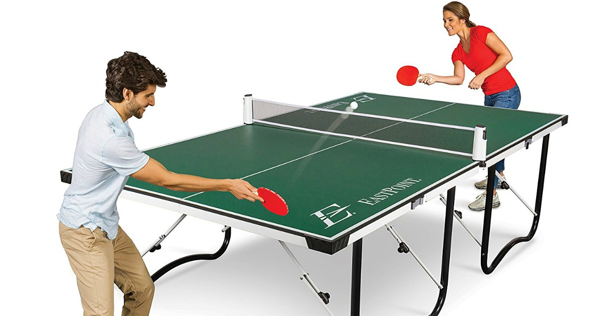 Eastpoint Fold Store Table Tennis Table Only 142 Shipped