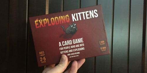 Exploding Kittens Game + FREE $10 Walmart eGift Card Only $19.99