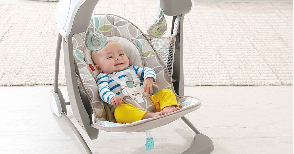 Fisher Price Deluxe Swing Seat Just 39 99 Shipped