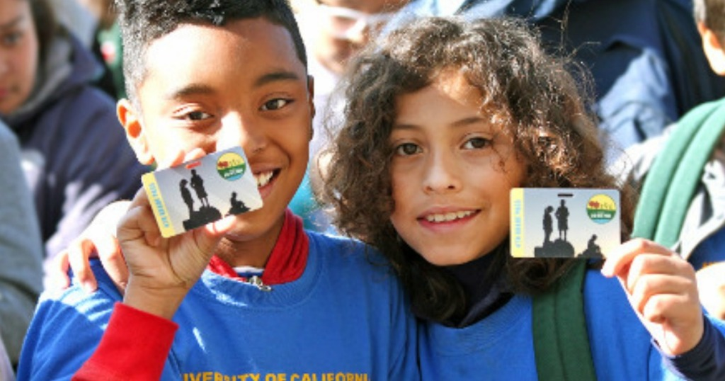 National Parks Membership for Families with 4th Graders FREE