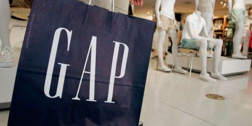 Up to 80% Off Men's Apparel at Gap