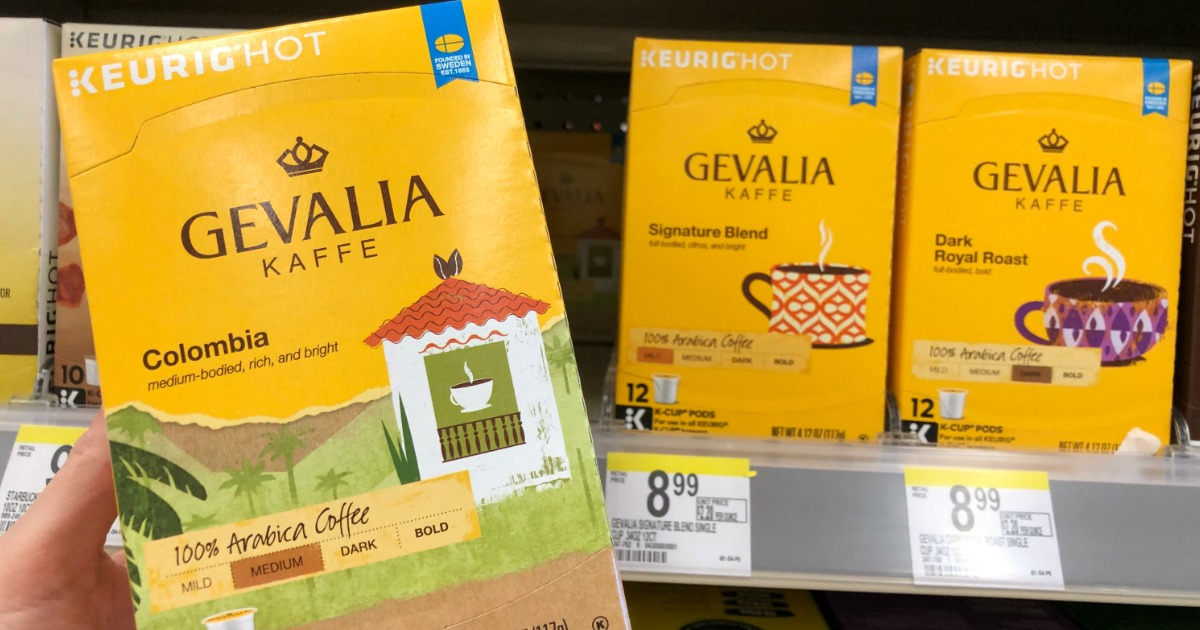 picture relating to Gevalia Printable Coupon named Walgreens: Gevalia or McCafe 12 Rely K-Cups Accurately $3.99