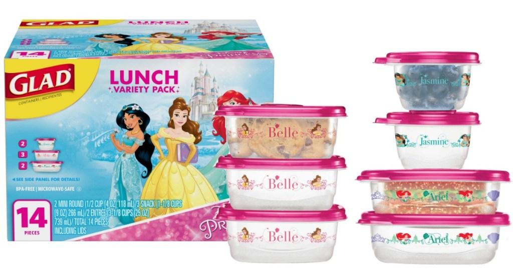 Walmart Com Glad 14 Piece Disney Food Storage Containers