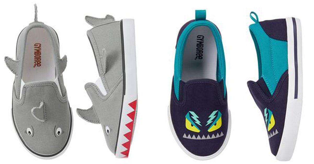 gymboree shark boots