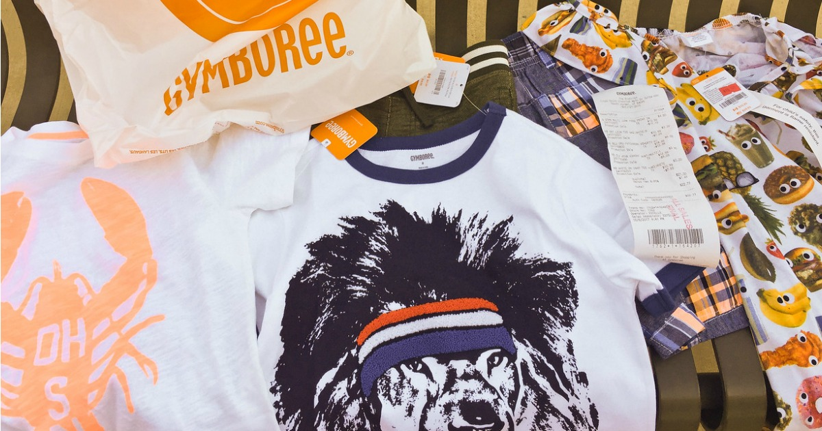 save money shopping with these gymboree tips – gymboree clothes laid out