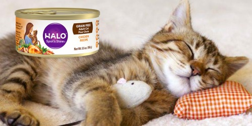 Petco: FREE Can of Halo Cat Food (Great Item to Donate)