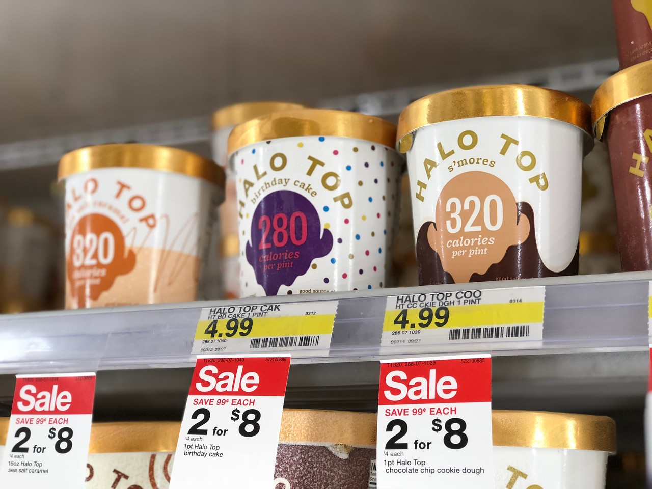 photograph about Halo Top Printable Coupon named Focus: Thus Mouth watering Dairy No cost Frozen Dessert Simply just $1.22
