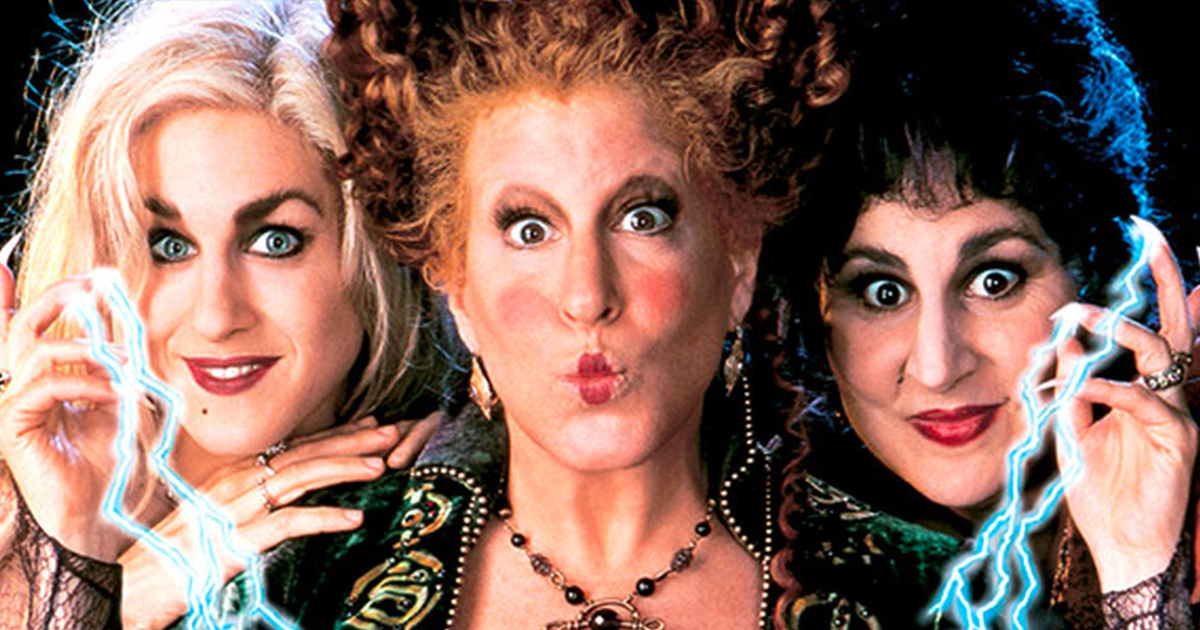 Of the many Halloween movies Hocus Pocus, which starts October 1st, 2018