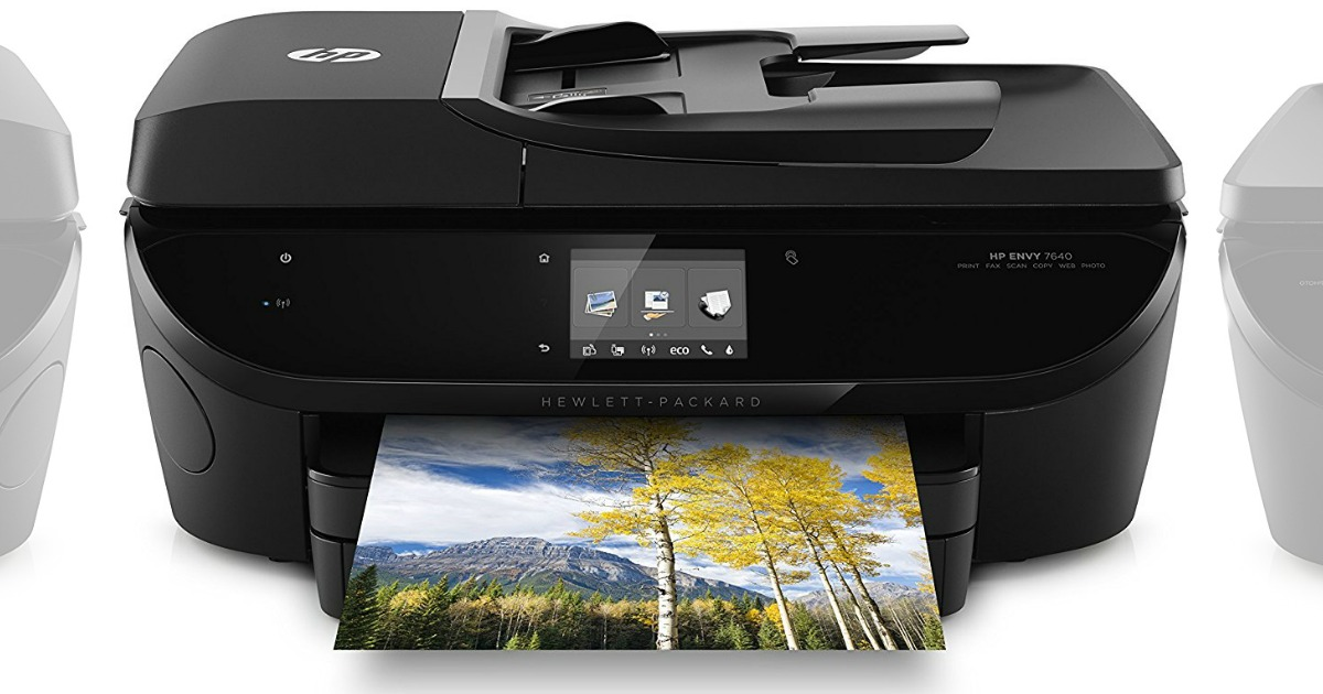 best buy hp wireless all in one printer only shipped regularly 200 hip2save. Black Bedroom Furniture Sets. Home Design Ideas