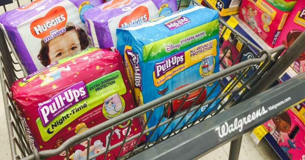 WOW! Huggies Diapers & Pull-Ups ONLY $1 75 Each at Walgreens