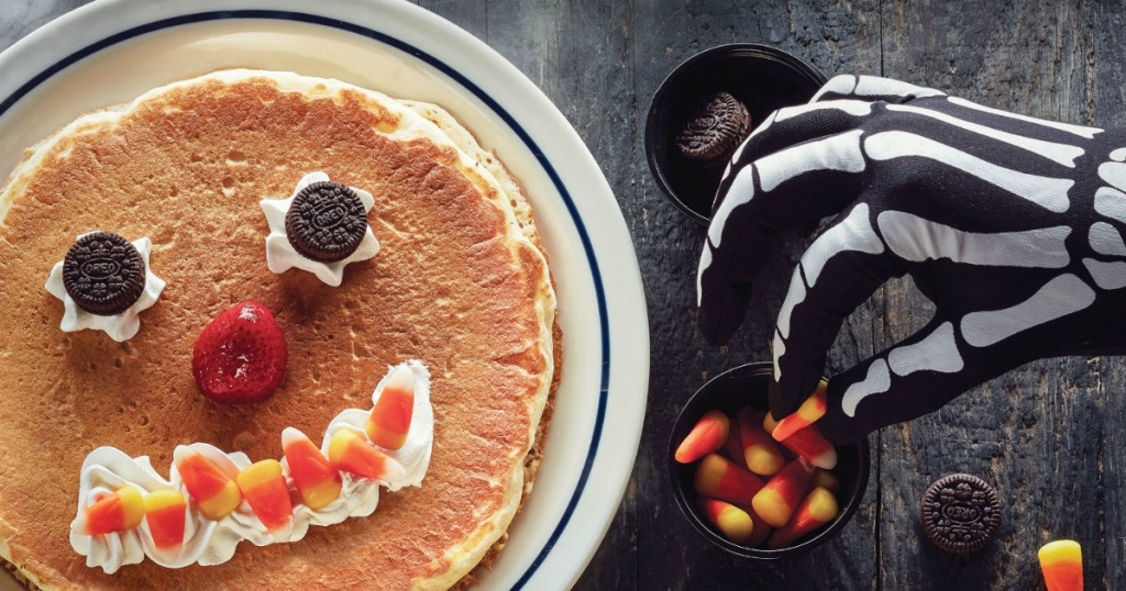 Escaped Ihop Scary Expression Pancake For Kids On October 29th   Much Halloween-inspired Favorites