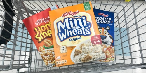 Rite Aid Shoppers! Score Cheap Kellogg's Cereal, 24¢ Speed Stick Deodorant & More – Starting 10/15