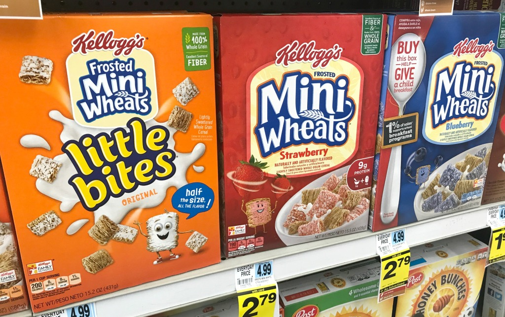 Rite Aid Weekly Deals Kellogg's Cereal