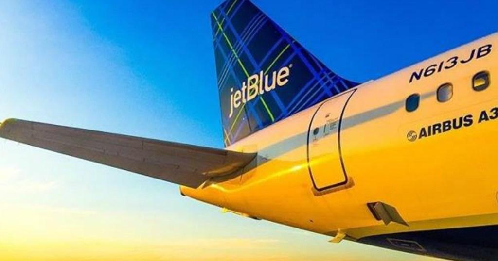 jetblue airlines flash sale select one way flights starting at just 54 hip2save. Black Bedroom Furniture Sets. Home Design Ideas