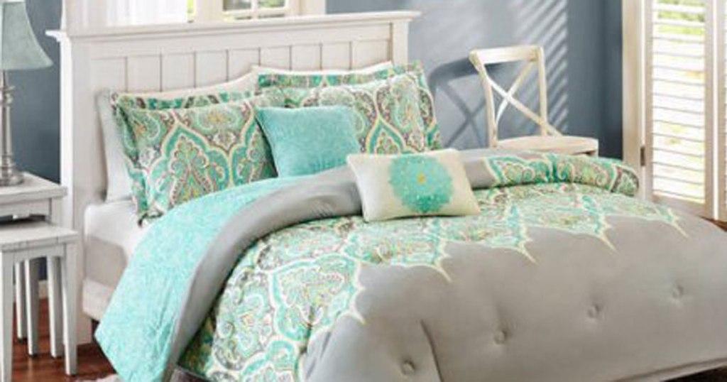 Walmart Com Better Homes Gardens King Size 5 Piece Bedding Set