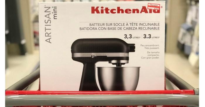 Target Clearance Find Kitchenaid Artisan Mini Mixer As