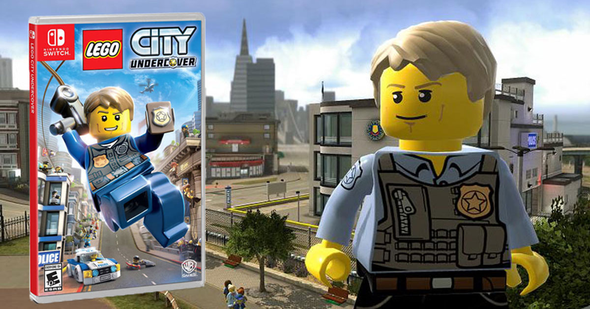 Lego City Undercover Nintendo Switch Ps4 Or Xbox One Game Only 19 99 Regularly 40 Hip2save