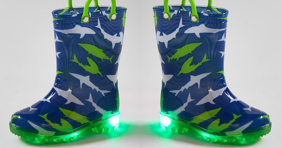 cef2c1c6edff7 Zulily  FUN Kids Light-Up Rain Boots Only  9.99 (Regularly  40) + ...